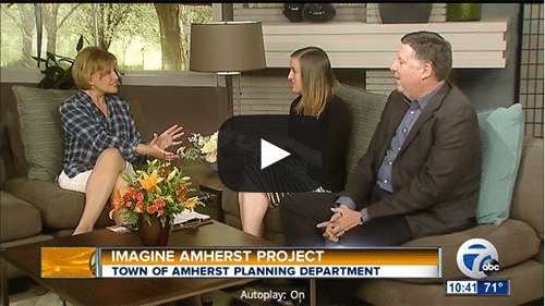 image link to AM Buffalo segment on Imagine Amherst