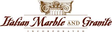 Italian Marble and Granite Logo graphic