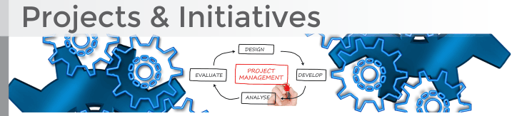 Projects and Initiatives banner graphic