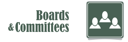 boards and Committees banner